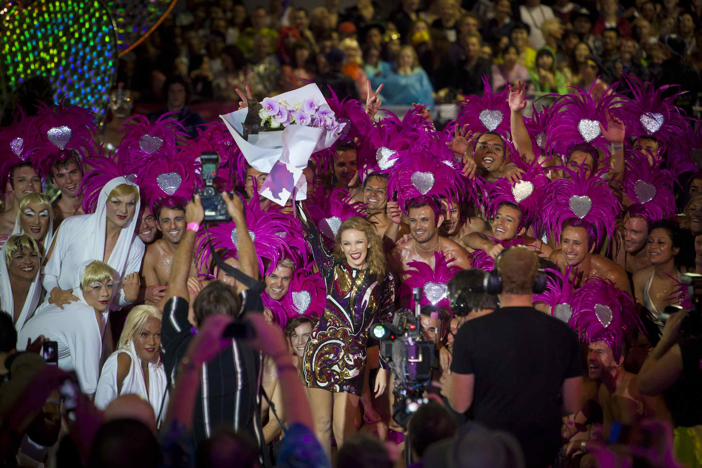 Kylie Minogue at Sydney Mardi Gras